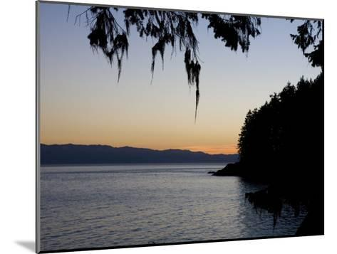 Sunset on the Pacific Coast of Vancouver Island, Sooke, British Columbia, Vancouver Island, Canada-Taylor S^ Kennedy-Mounted Photographic Print
