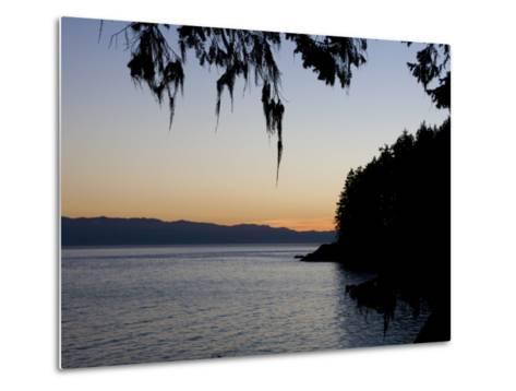 Sunset on the Pacific Coast of Vancouver Island, Sooke, British Columbia, Vancouver Island, Canada-Taylor S^ Kennedy-Metal Print