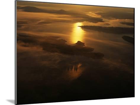Aerials in Arkansas of the Buffalo River, Arkansas-Randy Olson-Mounted Photographic Print