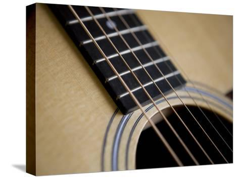 Close View of a Guitar, Annapolis, Maryland, United States-Taylor S^ Kennedy-Stretched Canvas Print