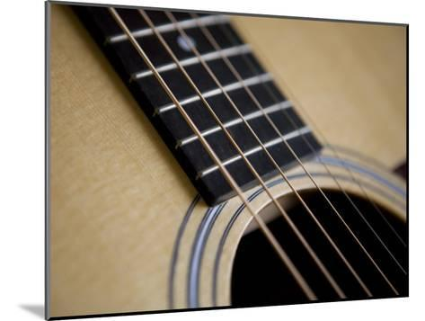 Close View of a Guitar, Annapolis, Maryland, United States-Taylor S^ Kennedy-Mounted Photographic Print