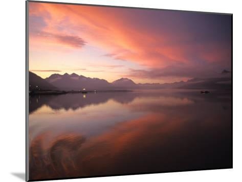 Sunrise in Valdez, Alaska-Michael S^ Quinton-Mounted Photographic Print