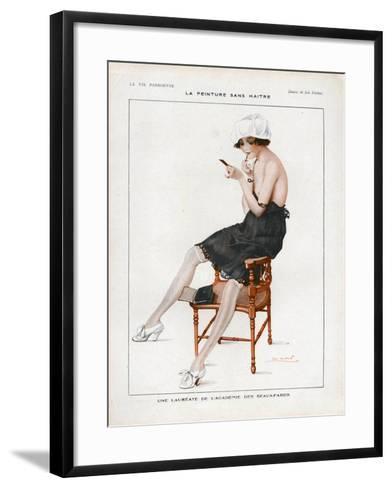 La Vie Parisienne, Magazine Plate, France, 1918--Framed Art Print