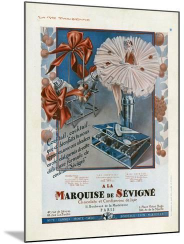 Marquise de Sevigne, Magazine Advertisement, France, 1929--Mounted Giclee Print