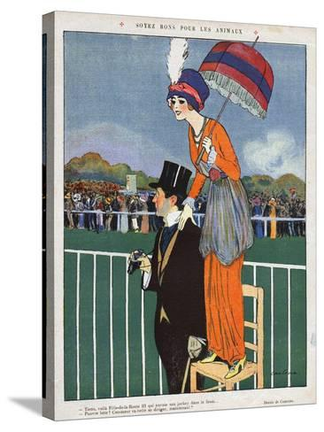La Vie Parisienne, Magazine Plate, France, 1920--Stretched Canvas Print