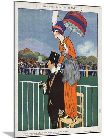 La Vie Parisienne, Magazine Plate, France, 1920--Mounted Giclee Print