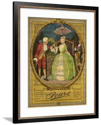 Pears, Magazine Advertisement, UK, 1910--Framed Art Print