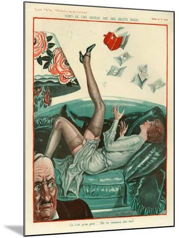 La Vie Parisienne, Magazine Plate, France, 1931--Mounted Giclee Print