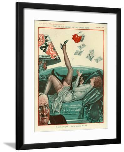 La Vie Parisienne, Magazine Plate, France, 1931--Framed Art Print