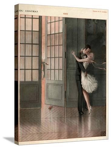 La Vie Parisienne, Magazine Plate, France, 1929--Stretched Canvas Print