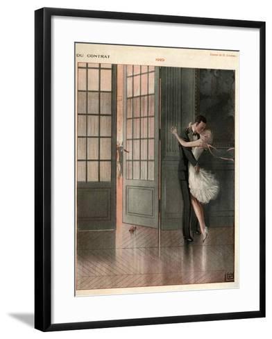 La Vie Parisienne, Magazine Plate, France, 1929--Framed Art Print