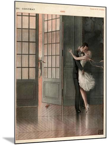 La Vie Parisienne, Magazine Plate, France, 1929--Mounted Giclee Print