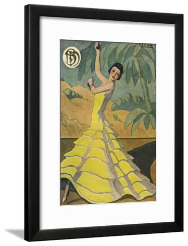 Blanco y Negro, Magazine Plate, Spain, 1934--Framed Art Print