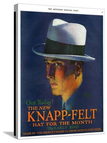 Knapp-Felt, Magazine Advertisement, USA, 1920--Stretched Canvas Print
