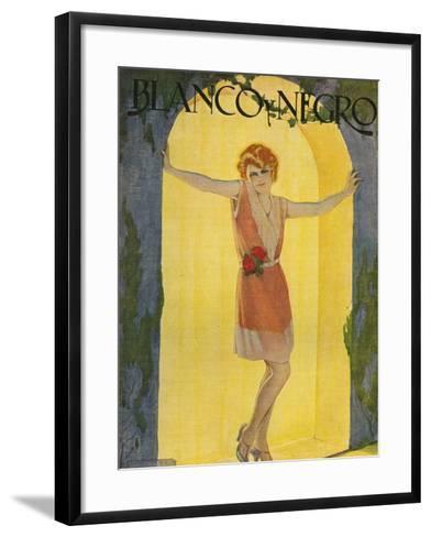 Blanco y Negro, Magazine Cover, Spain--Framed Art Print