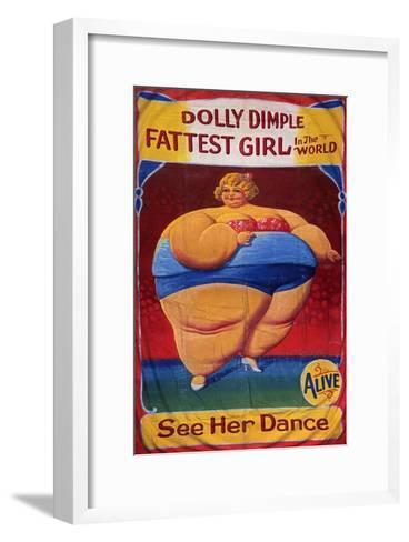 Dolly Dimple, Poster, 1900--Framed Art Print