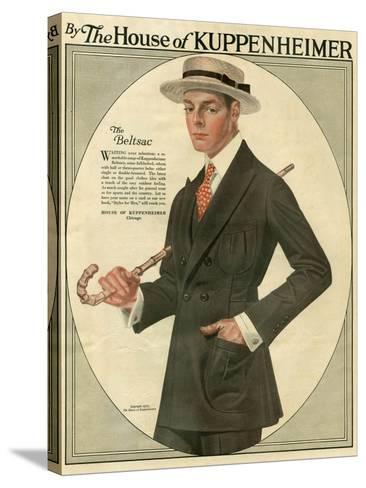 Kuppenheimer, Magazine Advertisement, USA, 1910--Stretched Canvas Print