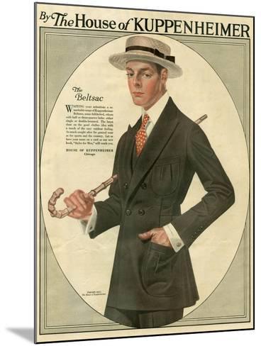 Kuppenheimer, Magazine Advertisement, USA, 1910--Mounted Giclee Print