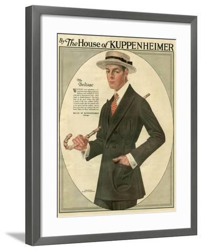 Kuppenheimer, Magazine Advertisement, USA, 1910--Framed Art Print