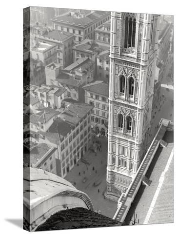 Giotto's Belltower in Florence-Vincenzo Balocchi-Stretched Canvas Print