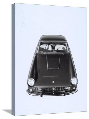 Frontal and Top View of a Ferrari Automobile-A^ Villani-Stretched Canvas Print