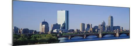 Boston, Massachusetts, USA--Mounted Premium Photographic Print