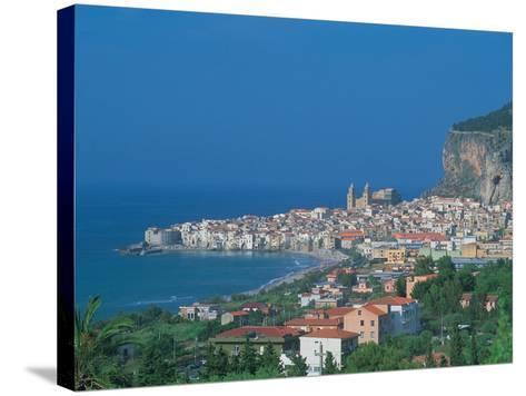 Cefalu, Sicily, Italy-Frank Chmura-Stretched Canvas Print