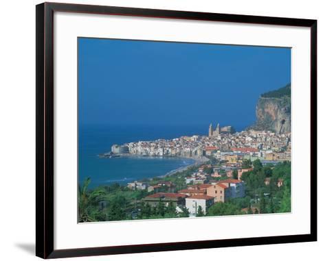 Cefalu, Sicily, Italy-Frank Chmura-Framed Art Print