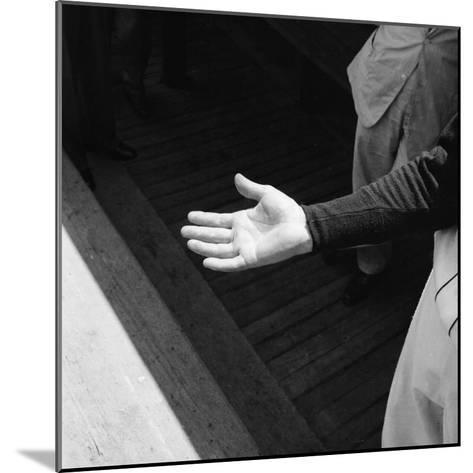 Bare Hand of Baseball Player Ted Williams-Ralph Morse-Mounted Premium Photographic Print