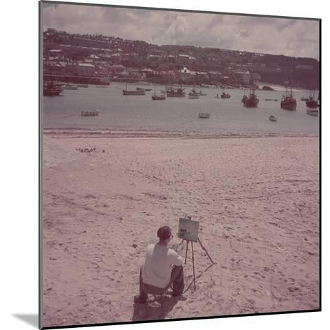 St. Ives Artists' Colony, Cornwall, England-Mark Kauffman-Mounted Photographic Print