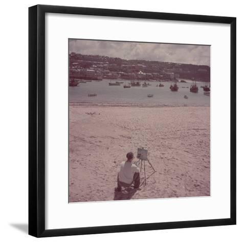 St. Ives Artists' Colony, Cornwall, England-Mark Kauffman-Framed Art Print