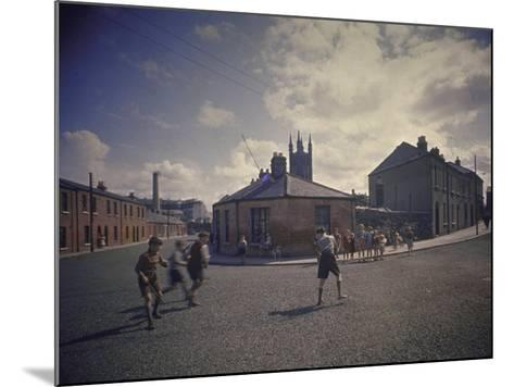 Sean O'Casey's Boyhood Home at 18 Abercorn Road-Gjon Mili-Mounted Photographic Print