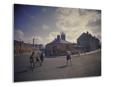 Sean O'Casey's Boyhood Home at 18 Abercorn Road-Gjon Mili-Metal Print