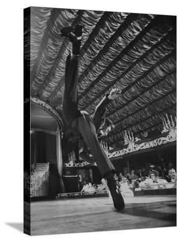 Dancers Performing at the Latin Quarter Night Club-Yale Joel-Stretched Canvas Print