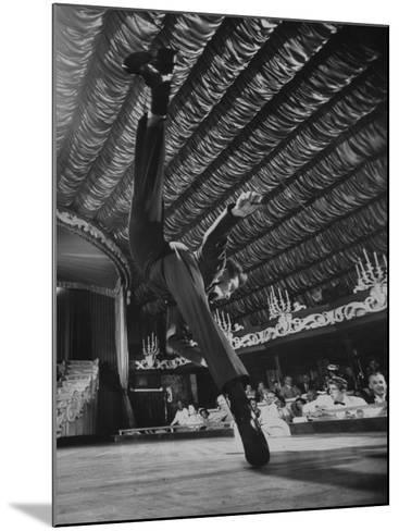 Dancers Performing at the Latin Quarter Night Club-Yale Joel-Mounted Photographic Print