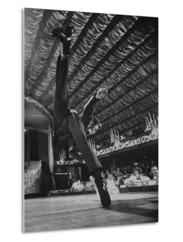 Dancers Performing at the Latin Quarter Night Club-Yale Joel-Metal Print