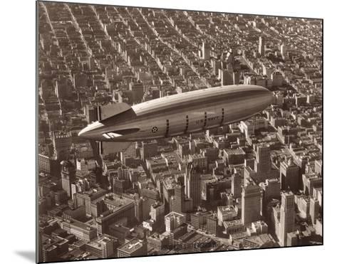 USS Macon, San Francisco, 1933-Clyde Sunderland-Mounted Giclee Print