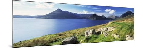 Rocks on the Hillside, Elgol, Loch Scavaig, View of Cuillins Hills, Isle of Skye, Scotland--Mounted Photographic Print
