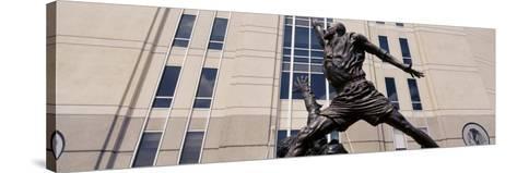 Michael Jordan Statue, United Center, Chicago, Illinois, USA--Stretched Canvas Print