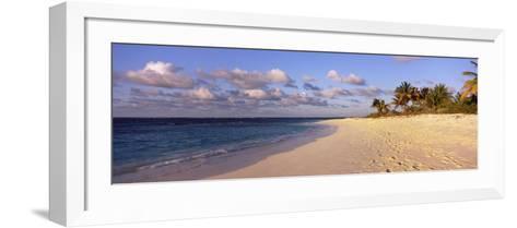 Waves on the Beach, Shoal Bay Beach, Anguilla--Framed Art Print