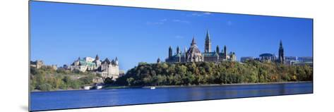 Government Building on a Hill, Parliament Building, Parliament Hill, Ottawa, Ontario, Canada--Mounted Photographic Print