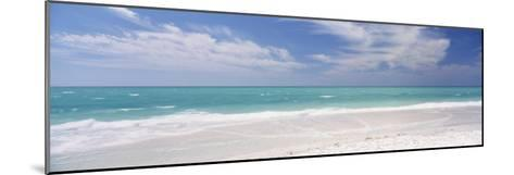 Clouds over the Sea, Lido Beach, St. Armands Key, Gulf of Mexico, Florida, USA--Mounted Photographic Print