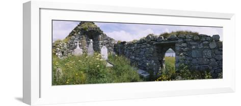 Old Ruins of a Church, County Kerry, Munster, Republic of Ireland--Framed Art Print