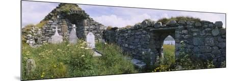 Old Ruins of a Church, County Kerry, Munster, Republic of Ireland--Mounted Photographic Print