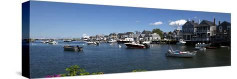Boats at a Harbor, Nantucket, Massachusetts, USA--Stretched Canvas Print