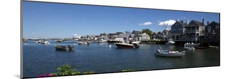 Boats at a Harbor, Nantucket, Massachusetts, USA--Mounted Photographic Print