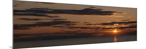Sunset over the Ocean, Jetties Beach, Nantucket, Massachusetts, USA--Mounted Photographic Print