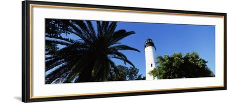 View of Key West Lighthouse, Key West, Florida, USA--Framed Art Print
