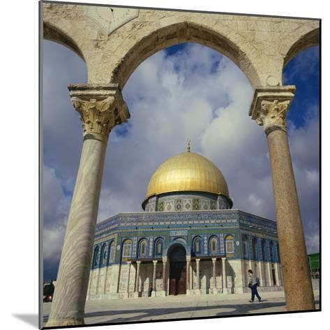 Dome of the Rock, Jerusalem, Israel, Middle East-Robert Harding-Mounted Photographic Print