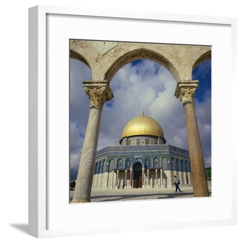 Dome of the Rock, Jerusalem, Israel, Middle East-Robert Harding-Framed Art Print